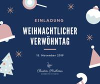 Einladung zum weihnachtlichen Verwöhntag